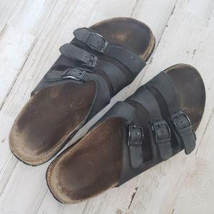 Birkenstock Betula Triple Strap Sandals
